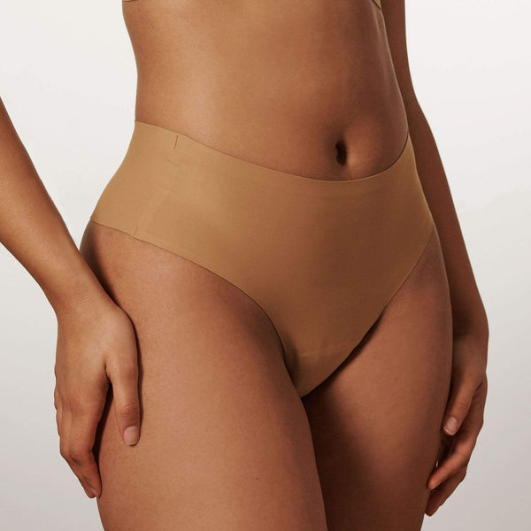 All Color: Mica | medium nude tone seamless underwear