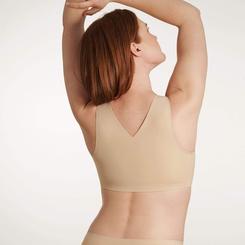 All Color: Sand | tan nude seamless wireless bra