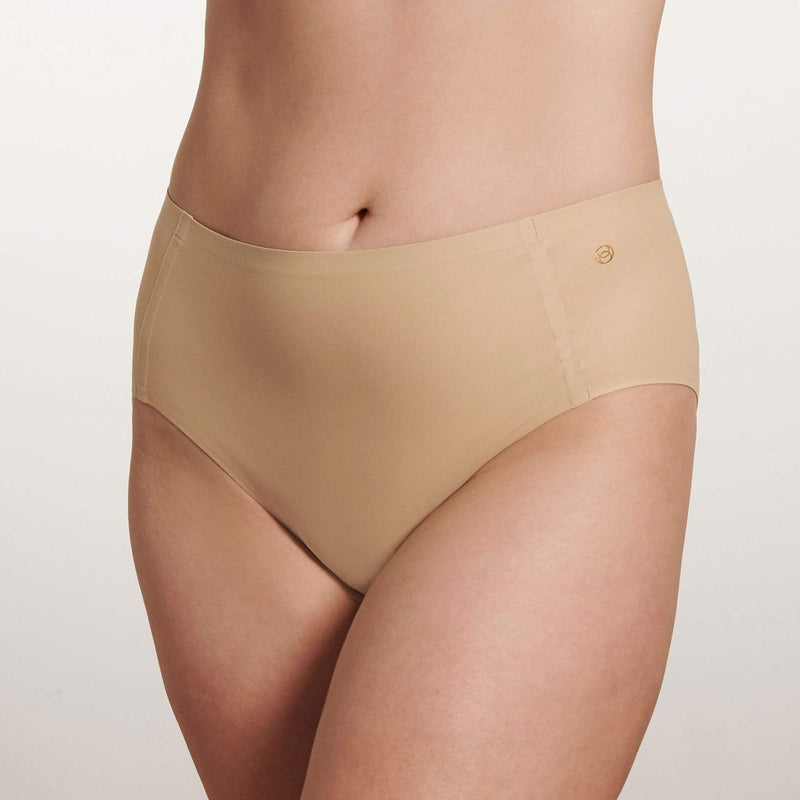 All Color: Sand | light nude tone seamless bikini brief underwear