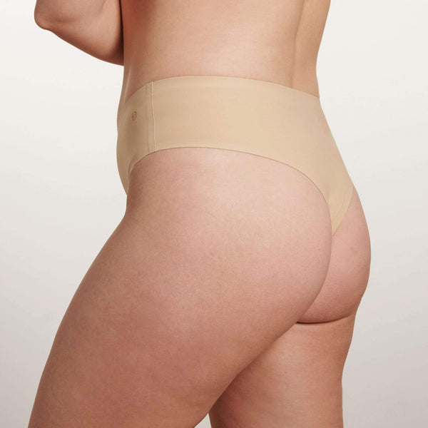 All Color: Sand | medium nude tone seamless underwear
