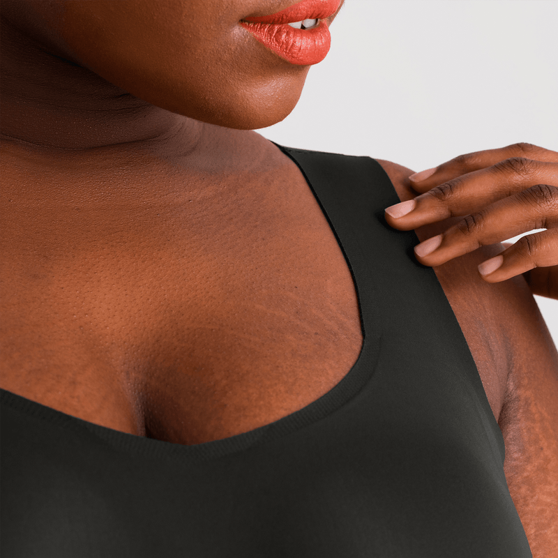 All Color: Black Onyx | black seamless wireless tank