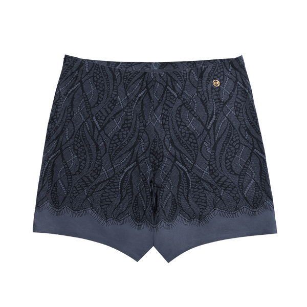 All Color: Midnight Lace| navy blue lace boyshorts underwear