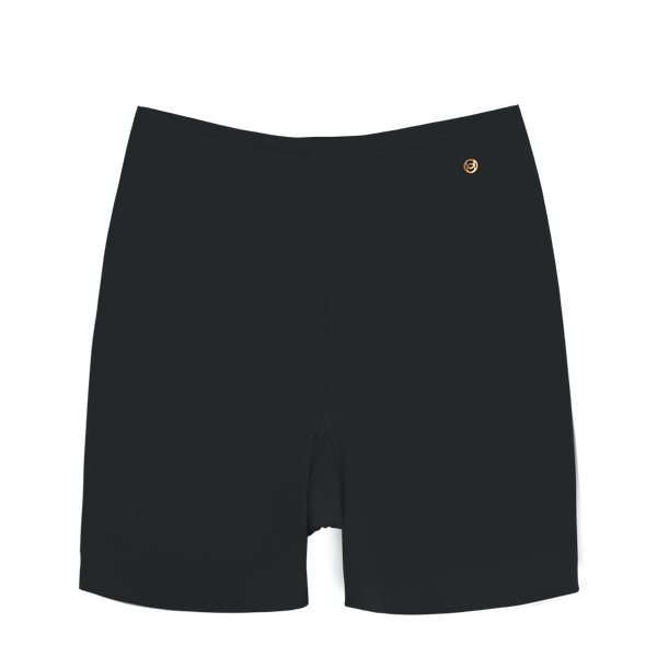 All Color: Black Onyx | black seamless boyshorts underwear