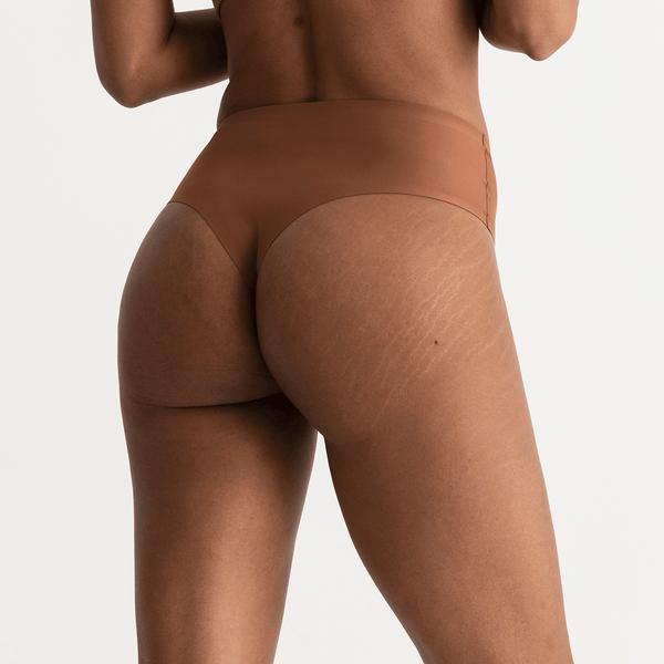 All Color: Clay | medium nude tone seamless underwear