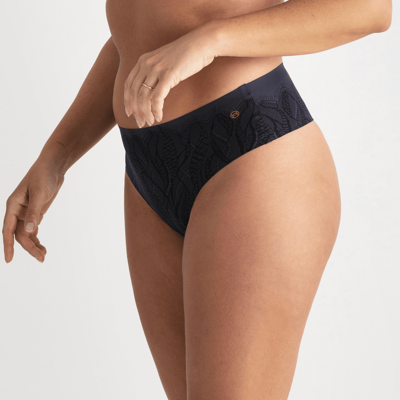 All Color: Midnight Lace | blue navy lace seamless underwear