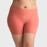 All Color: Rose Quartz | Pink seamless boyshorts underwear