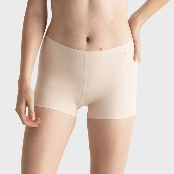 All Color: Shell | nude tan boyshorts underwear