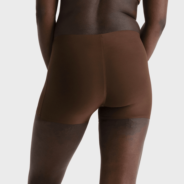 All Color: Umber | nude brown boyshorts underwear