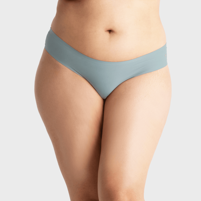 All Color: Celestine | blue seamless thong underwear