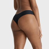 All Color: Black Onyx | black seamless thong underwear