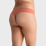 All Color: Rose Quartz | pink seamless thong underwear