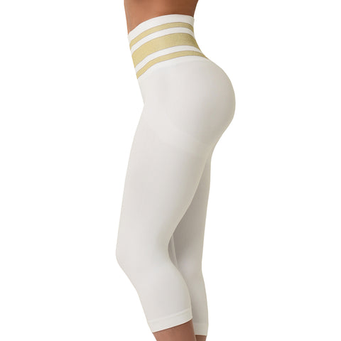 Yoga | White & Gold