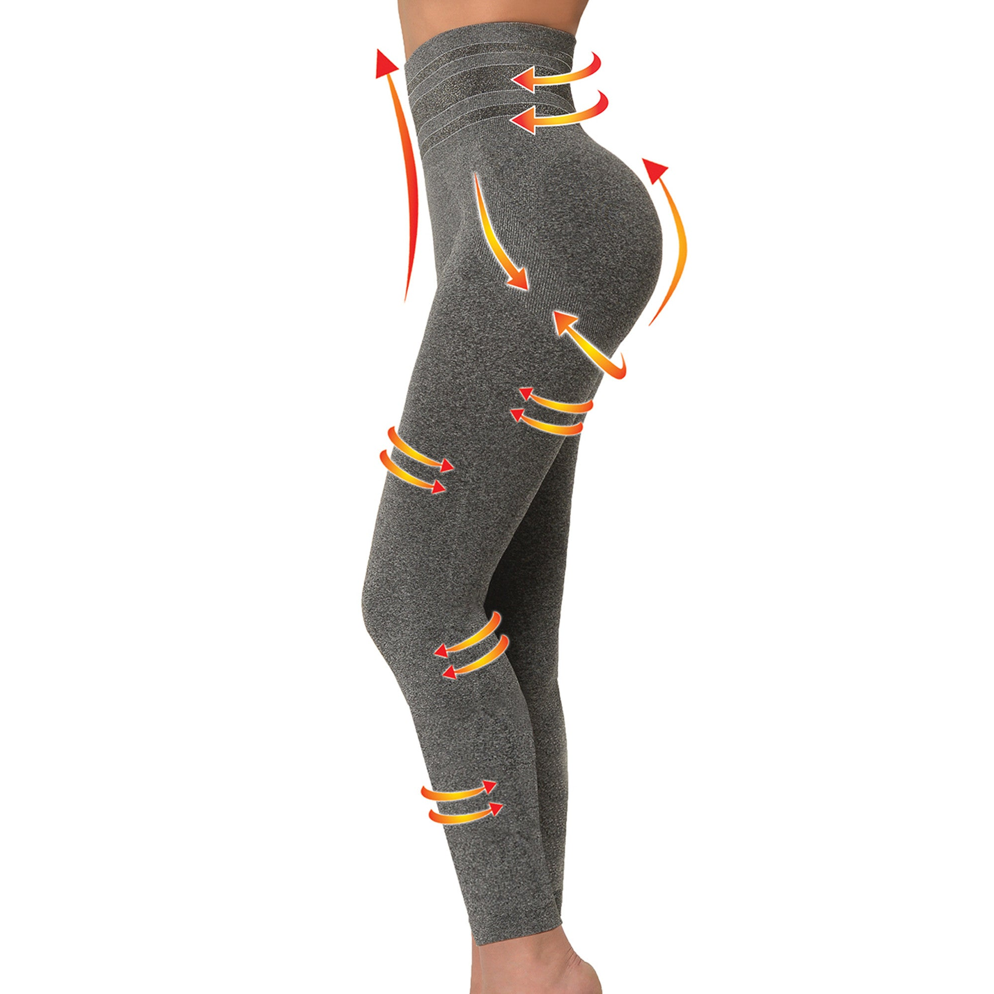 SANKOM yoga pants with butt lift and back support