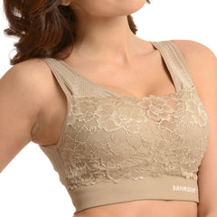 Classic with Lace  | Beige