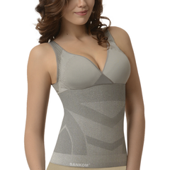 Bamboo with Bra Incorporated  | Grey