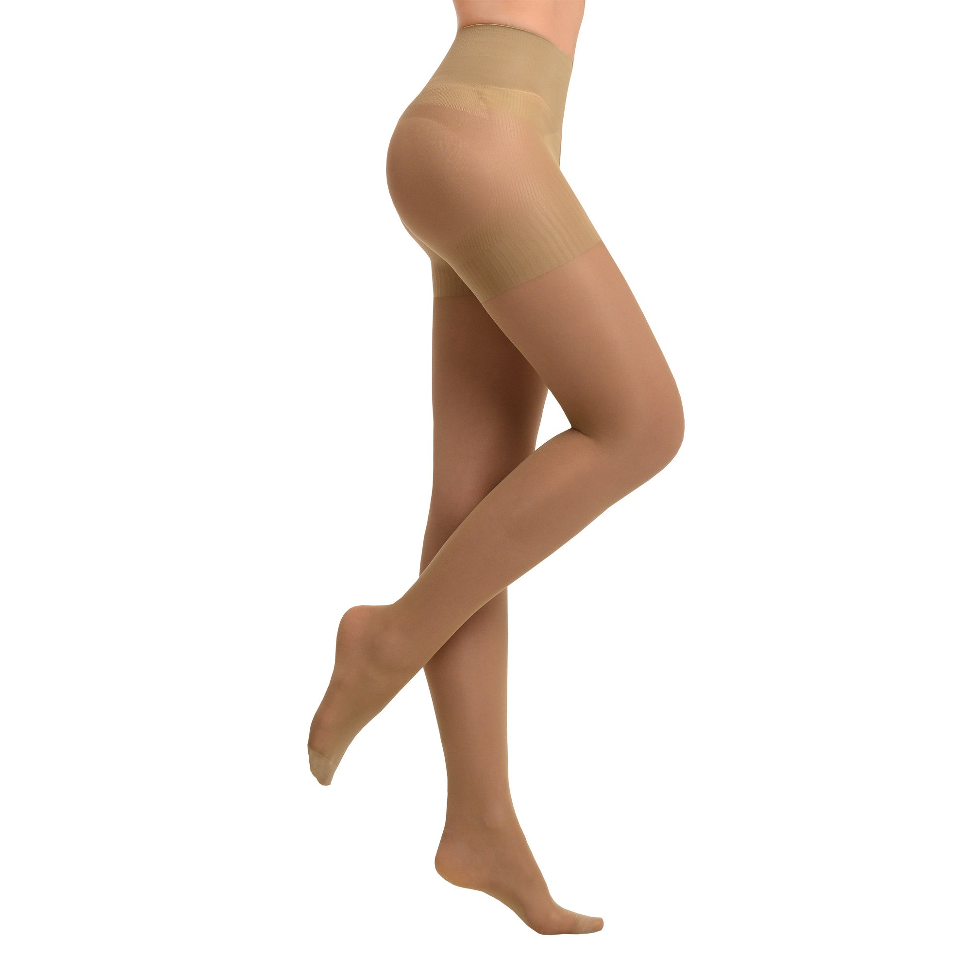 Tights with Shaper |  Beige