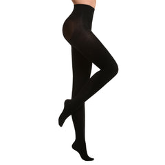 Thermo Tights with Shaper |  Black