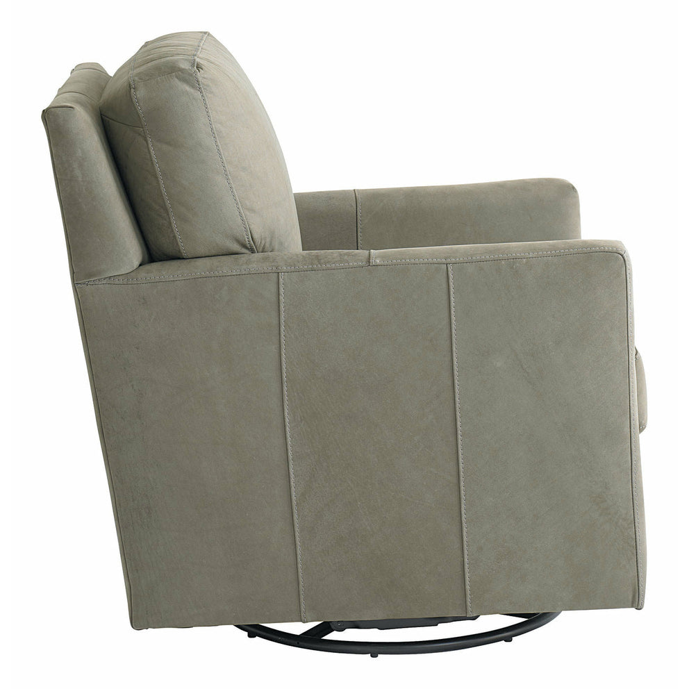 Trent Chair and Ottoman- Multiple Options - Chapin Furniture