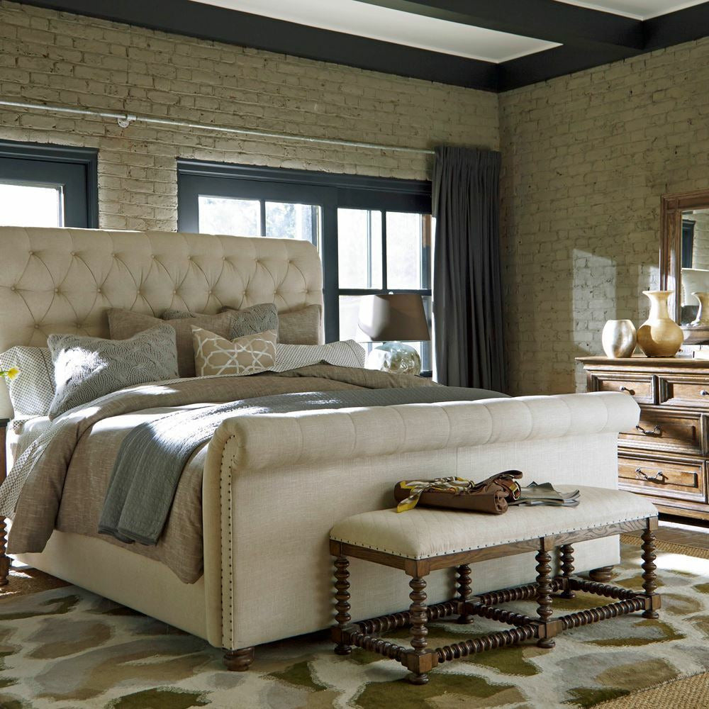 Boho Chic Upholstered Bed - Chapin Furniture