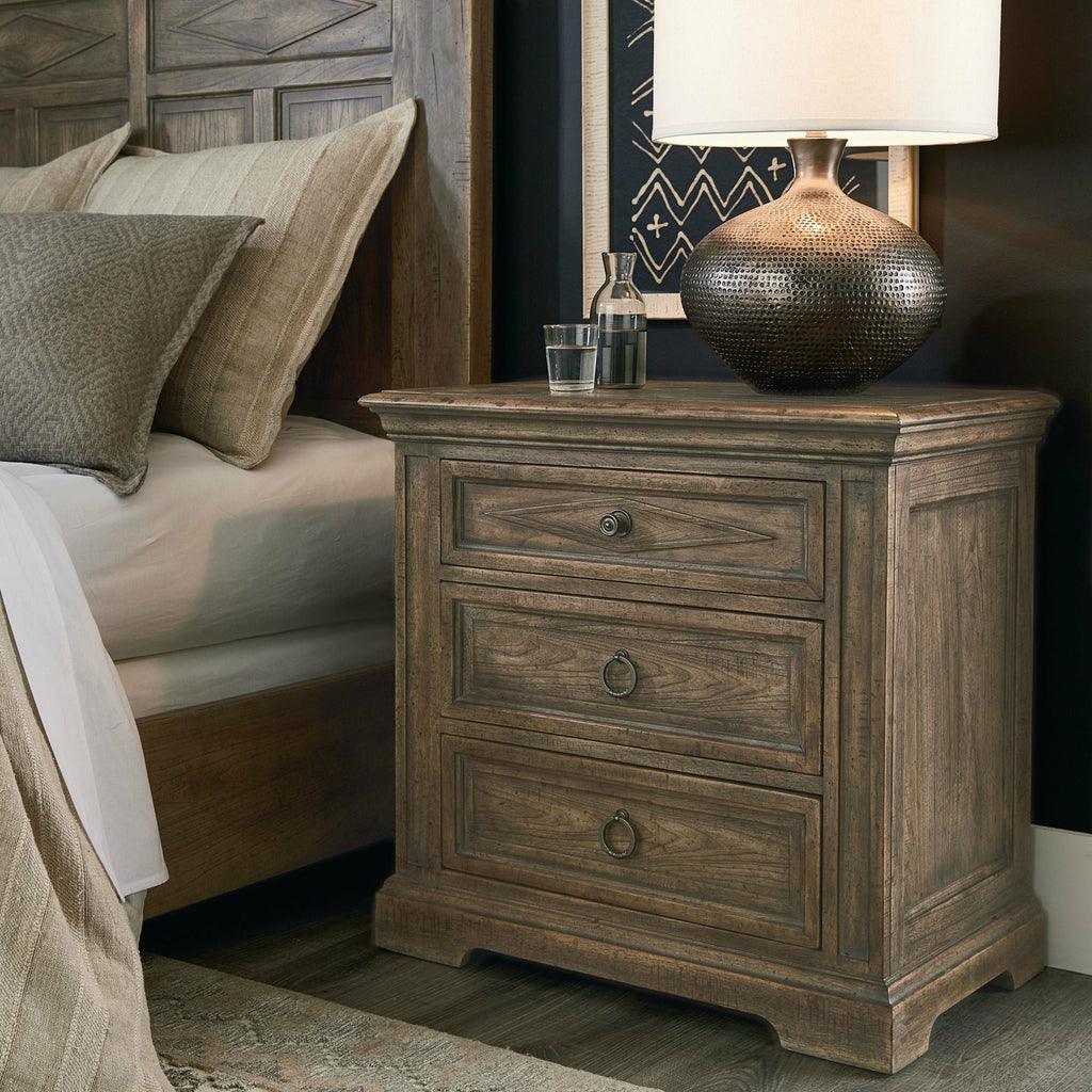 Woodridge 3 Drawer Nightstand- Multiple Finish Options - Chapin Furniture