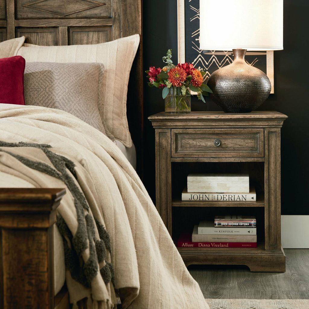 Woodridge Open Nightstand- Multiple Finish Options - Chapin Furniture
