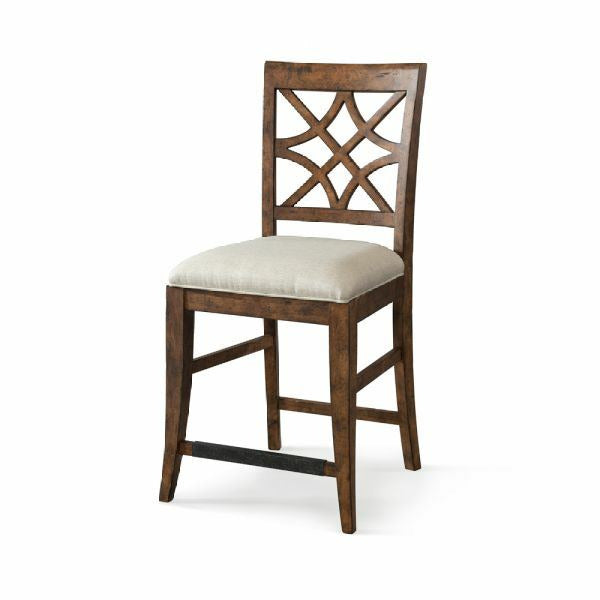 Trisha Yearwood Home Nashville Counter Height Chair-Coffee