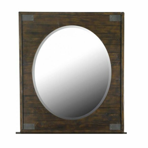 Pine Hill Portrait Oval Mirror