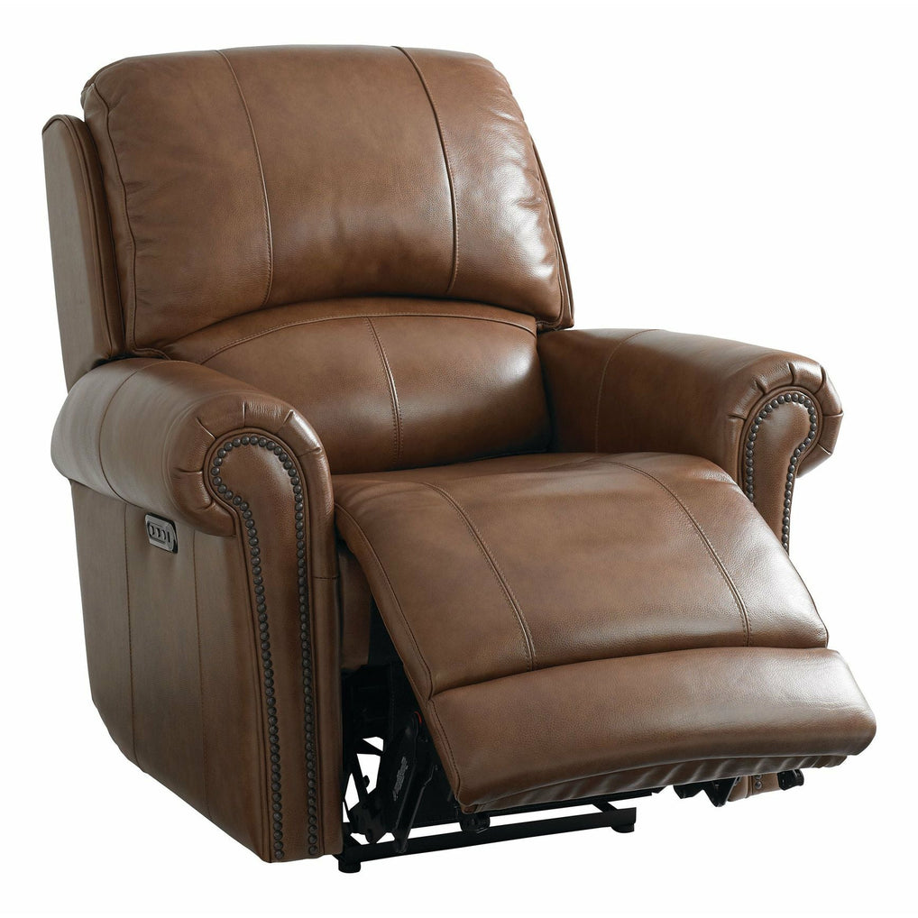 Bassett Club Level Olsen Wallsaver Power Recliner With Power Headrest- Multiple Colors - Chapin Furniture
