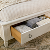 Summer Hill Panel Storage Bed-QUeen