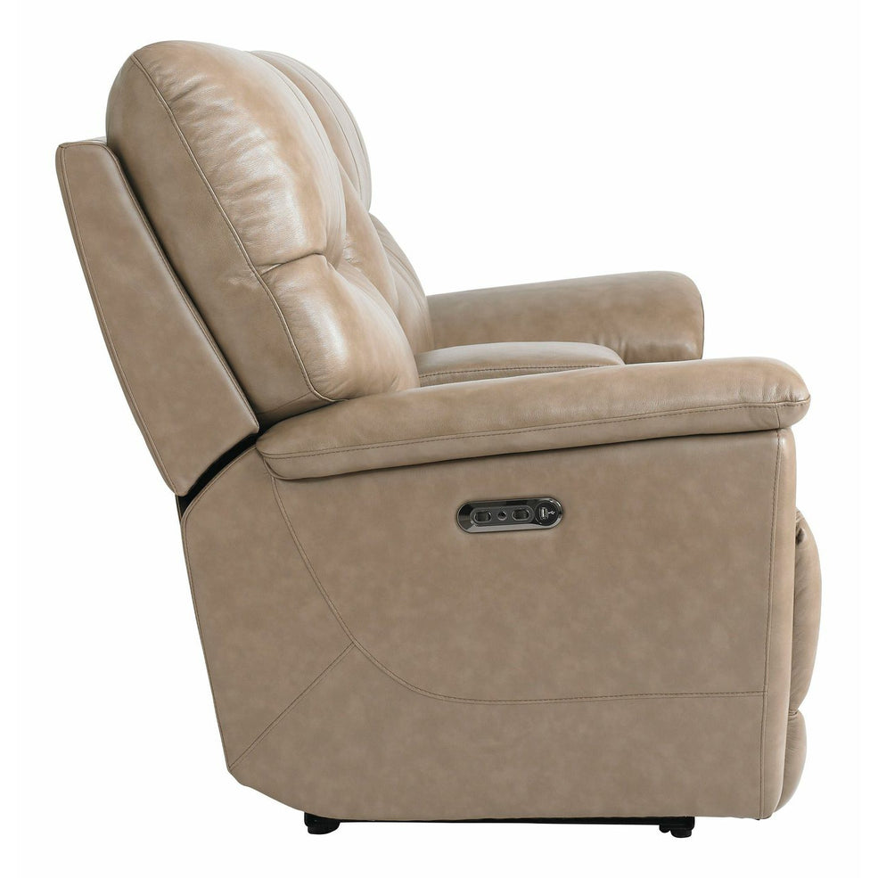 Bassett Club Level Brookville Power Motion Console Loveseat- Multiple Colors - Chapin Furniture