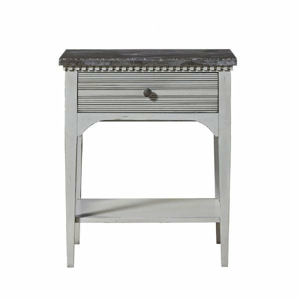 Sojourn Night Table- Grey Lake