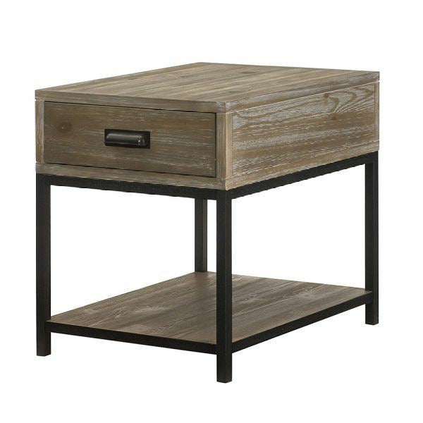 Parsons Drawer End Table