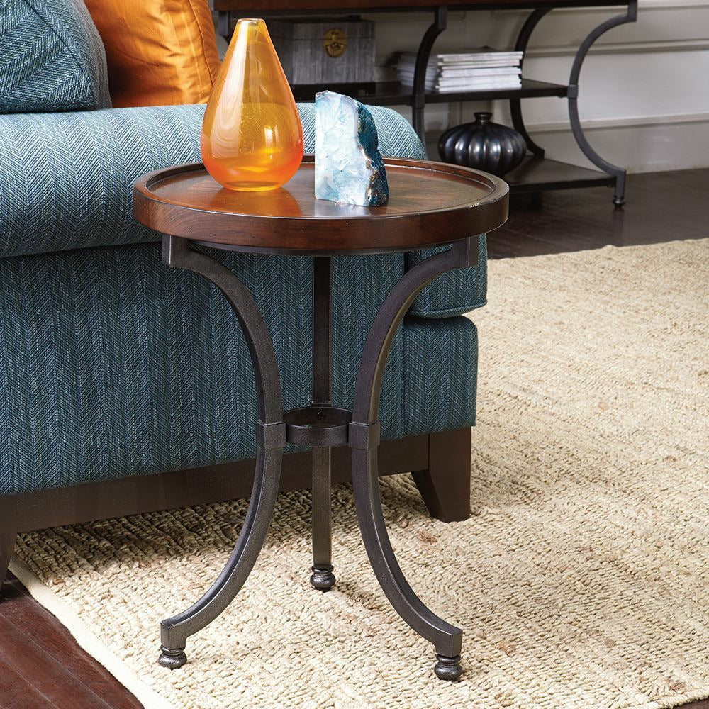 Barrow Round Chairside Table