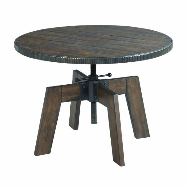 Hidden Treasures High Low End Table