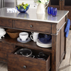 Trisha Yearwood Kitchen Island- Cream
