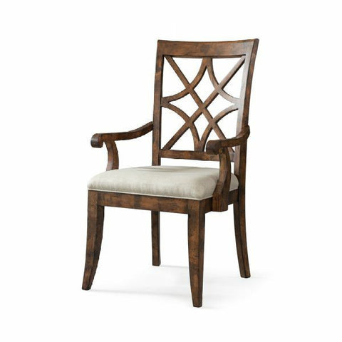 Trisha Yearwood Home Nashville Arm Chair- Coffee