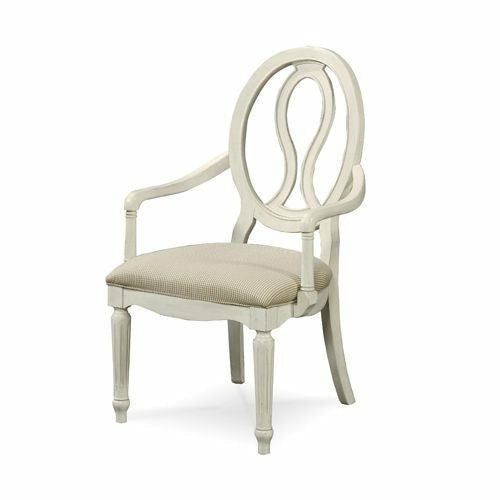 Summer Hill Pierced Back Arm Chair - Chapin Furniture
