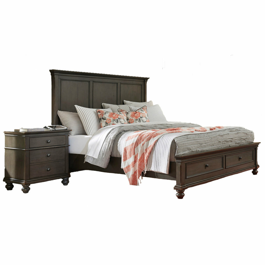 Oxford Panel Storage Bed - Chapin Furniture