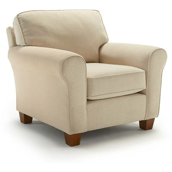 Annabel Club Chair-Customizable - Chapin Furniture