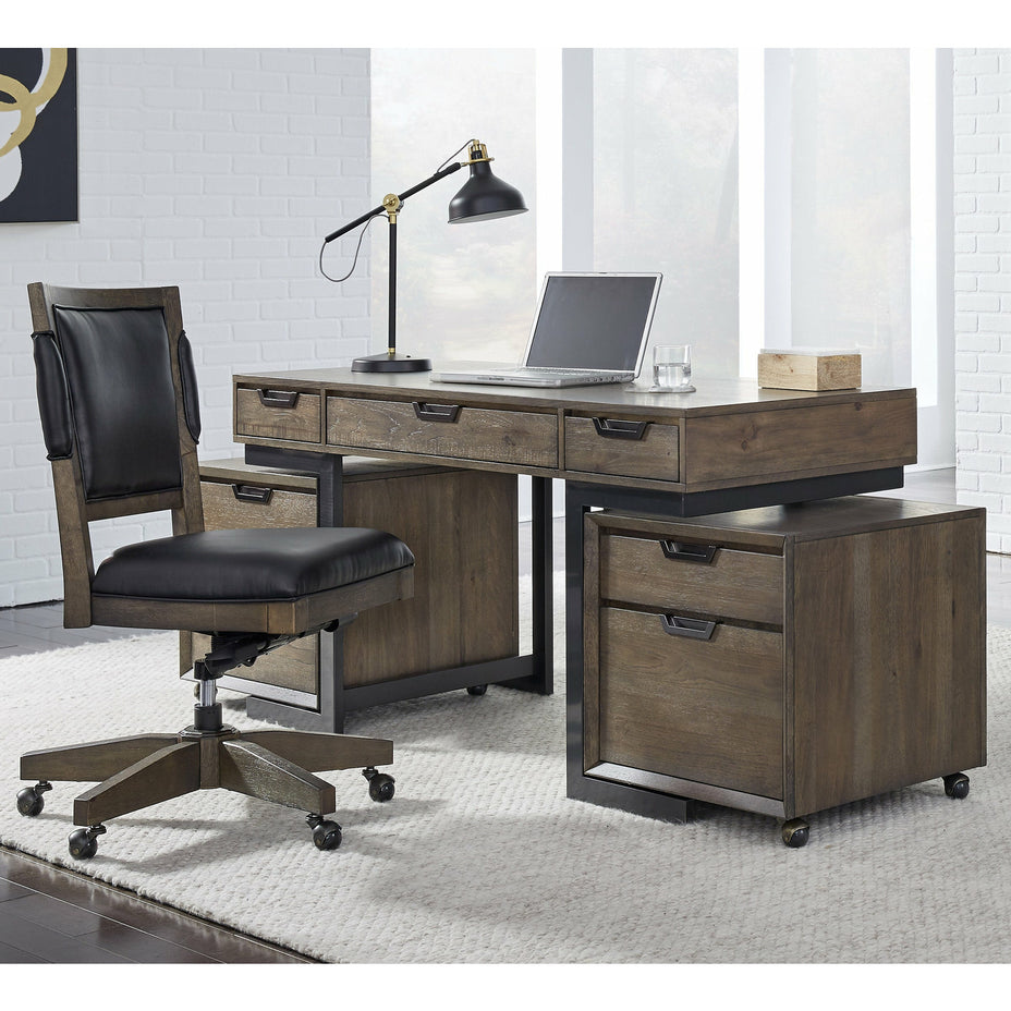 "Harper Point Fossil 60"" Writing Desk - Chapin Furniture"