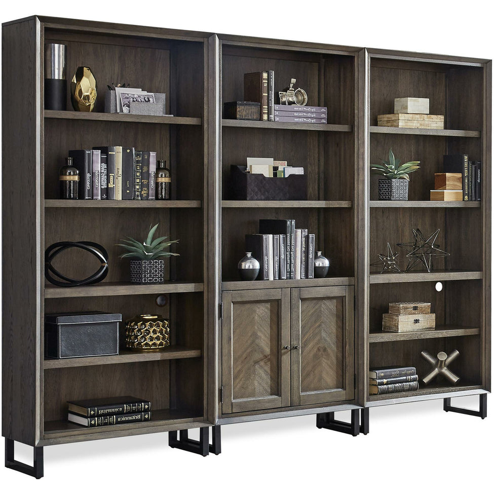 Harper Point Fossil Bookcases - Chapin Furniture