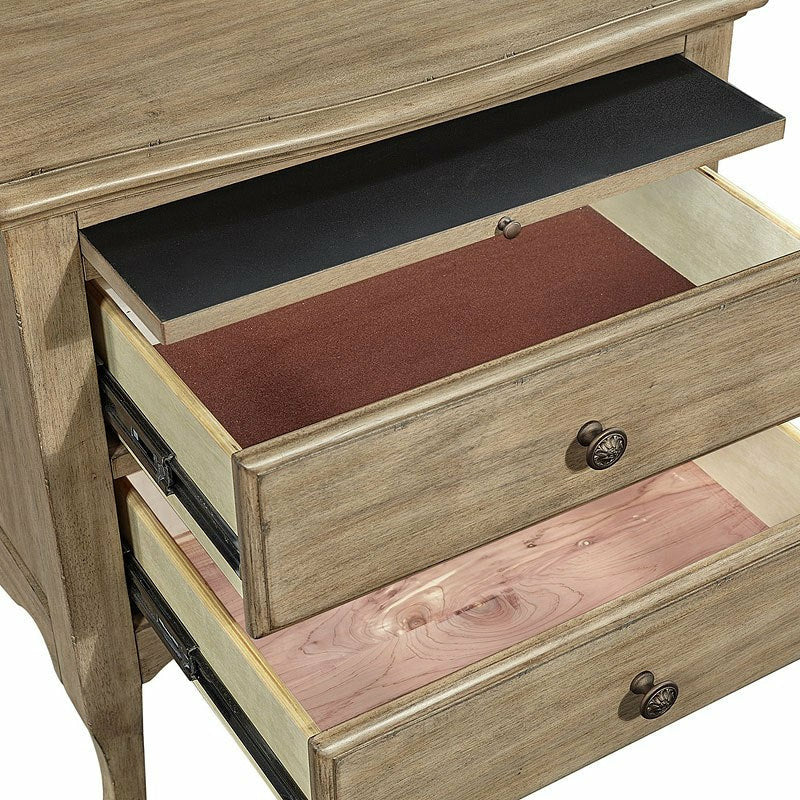 Provence Two Drawer Nightstand - Chapin Furniture