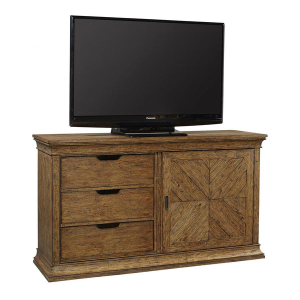 "Mosaic 66"" Console With Sliding Door - Chapin Furniture"