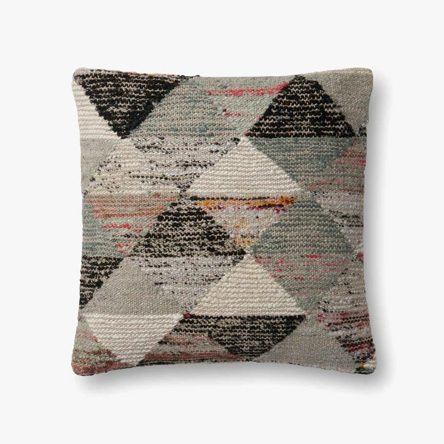 Magnolia Home Grey/Multi Colored Pillow - Chapin Furniture