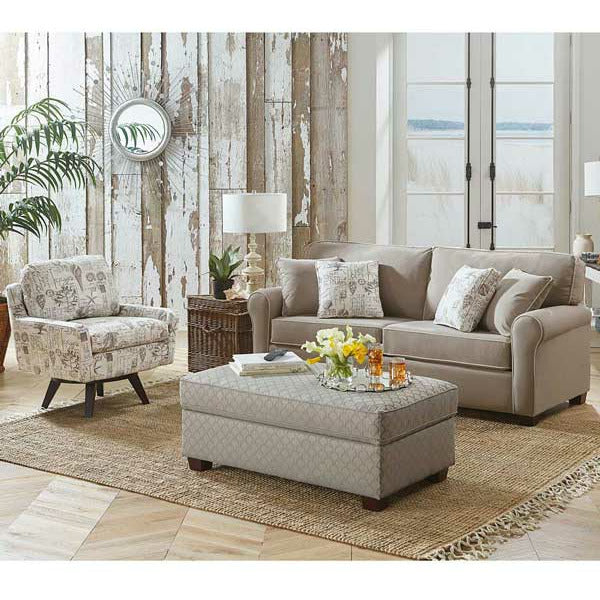 Shannon Sofa With Sleeper- Customizable - Chapin Furniture