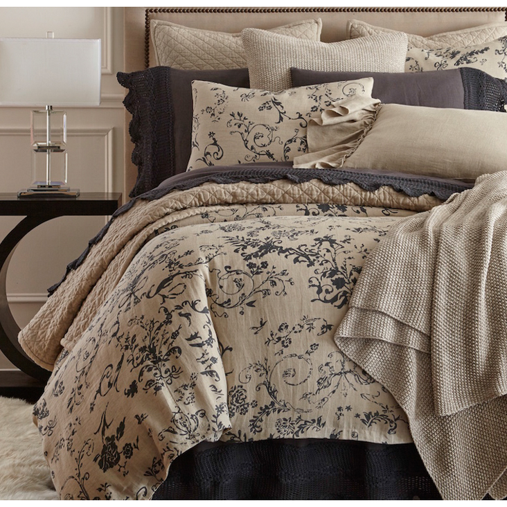 LE Poet Linen Duvet Cover - Chapin Furniture