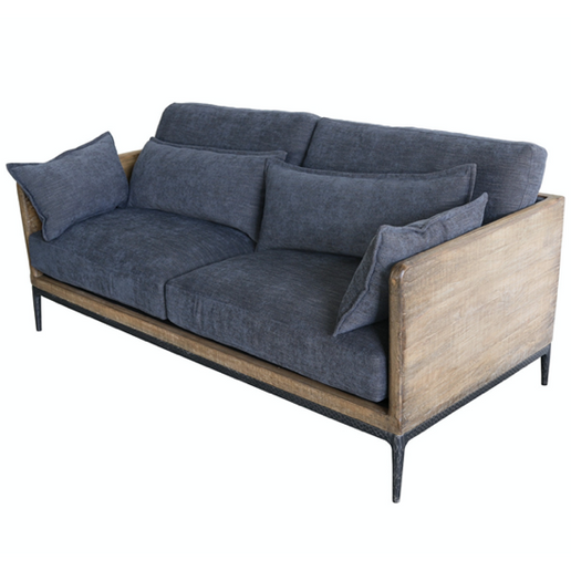 Renfrow Sofa- White or Navy - Chapin Furniture