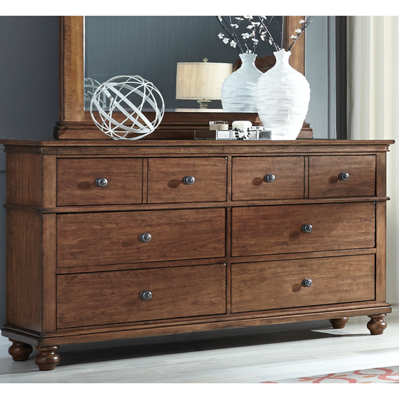 Oxford 6 Drawer Dresser- Multiple Finish Options - Chapin Furniture
