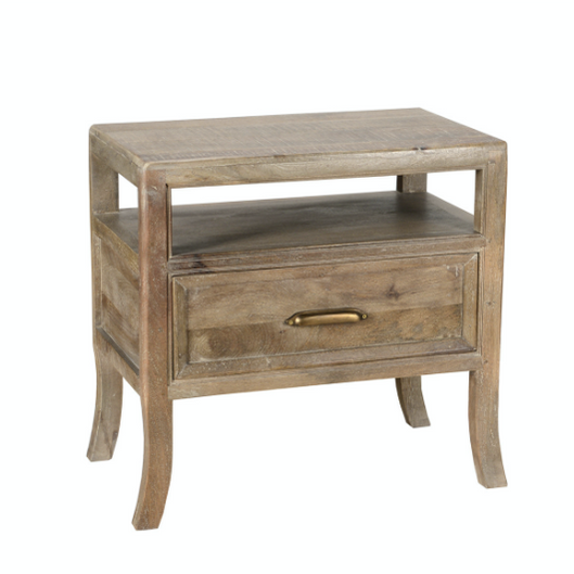 Francesca 1Dwr Nightstand Vintage Taupe - Chapin Furniture