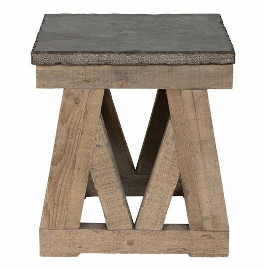Marbella End Table Stone Top - Chapin Furniture